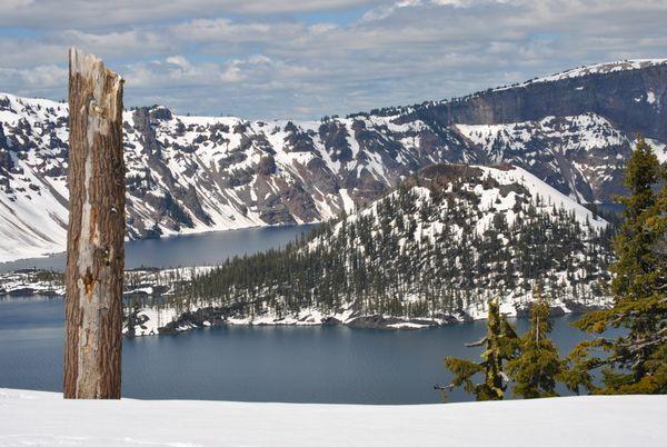 Wizard Island Crater Lake National Park thumbnail