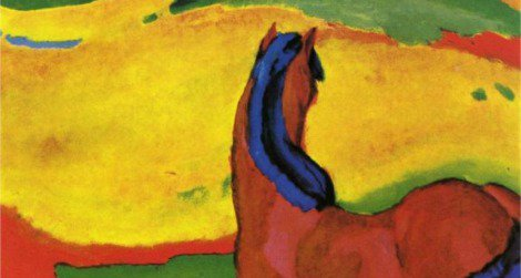 Franz Marc's Horses in a Landscape was one of the recovered pieces of art.