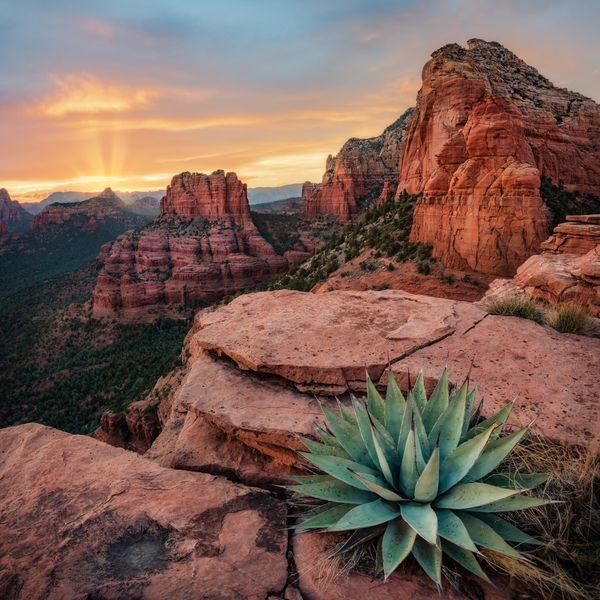 Sunset in Sedona, Arizona thumbnail