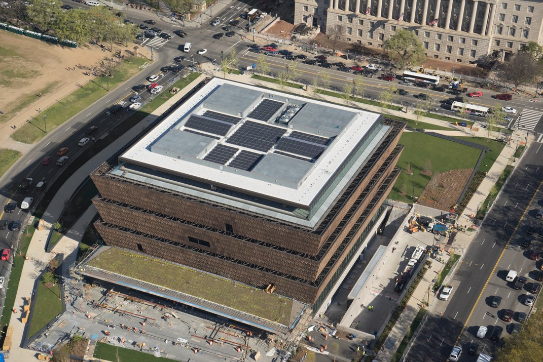 The African American History and Culture Museum Wins Gold for Going Green