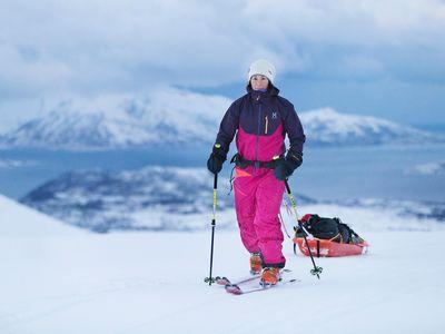 Johanna Davidsson training in Norway
