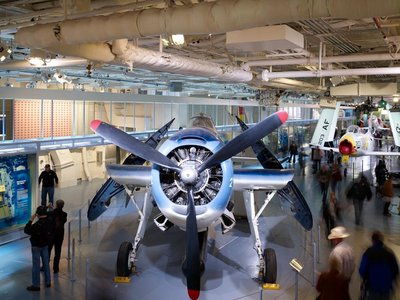 The Intrepid Sea, Air & Space Museum in New York City is just one of the many museums and cultural institutions offering free admission during this year's Museum Day, slated for September 22.