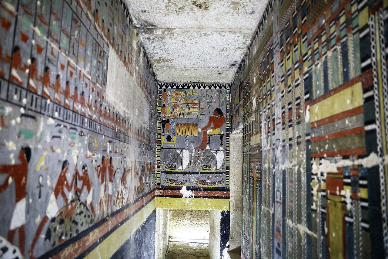 Richly Adorned Egyptian Tomb Could Rewrite the History of Mummification