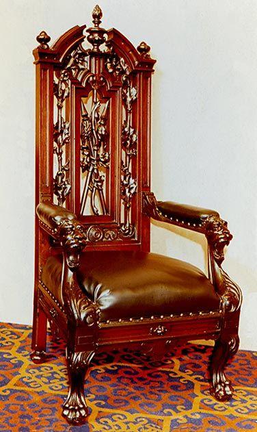 Edwin M Stanton chair