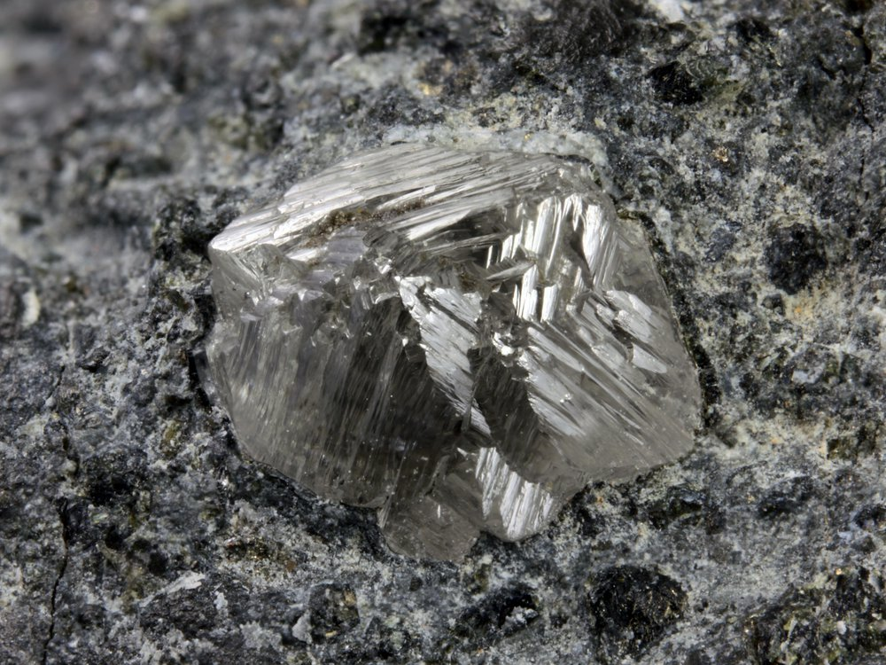diamond on kimberlite