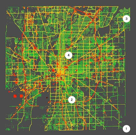 New Technology Maps Greenhouse Gas Emissions at the Street and Neighborhood Level