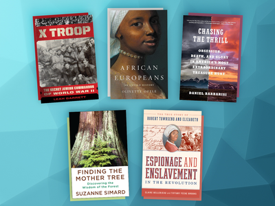 This month's book picks include African Europeans, X Troop and Chasing the Thrill.