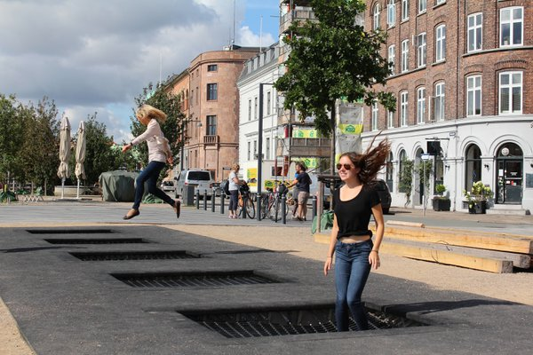 City Sidewalk Trampoline thumbnail