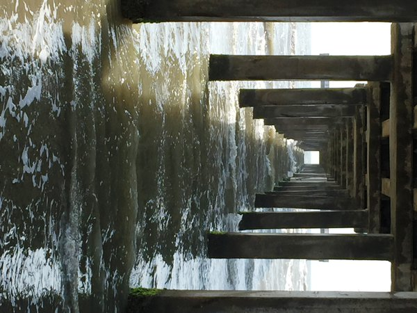 Under the pier at Port Aransas, Texas thumbnail
