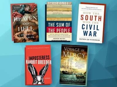 This week's offerings include How the South Won the Civil War, The Imposteress Rabbit Breeder, and Heaven and Hell.