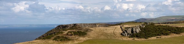 Rock Formation at Tintagel thumbnail