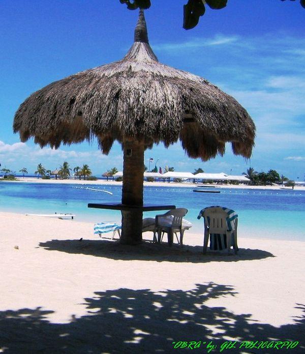 the beach front of marabag beach in mactan Philippines thumbnail