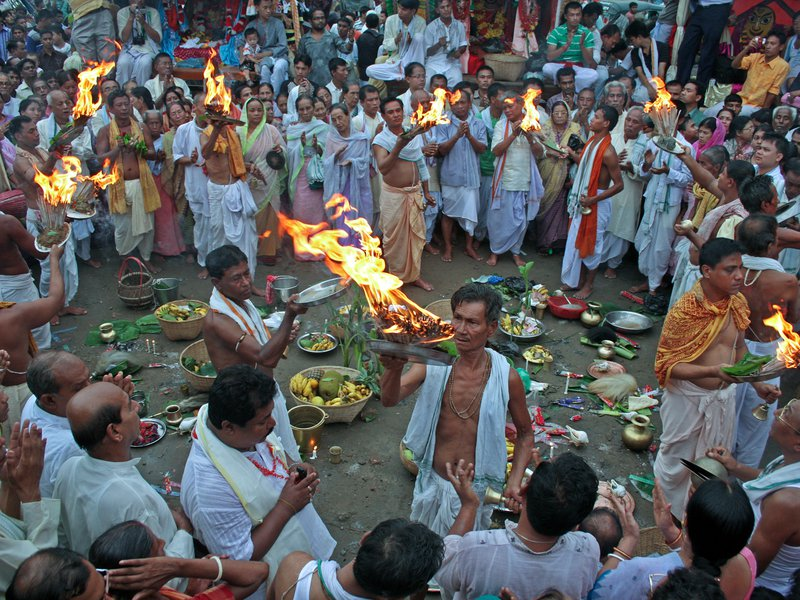 Rath Worship Festival, Monipuri Religious Peoples In