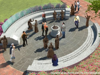 A plan for the Virginia women's monument