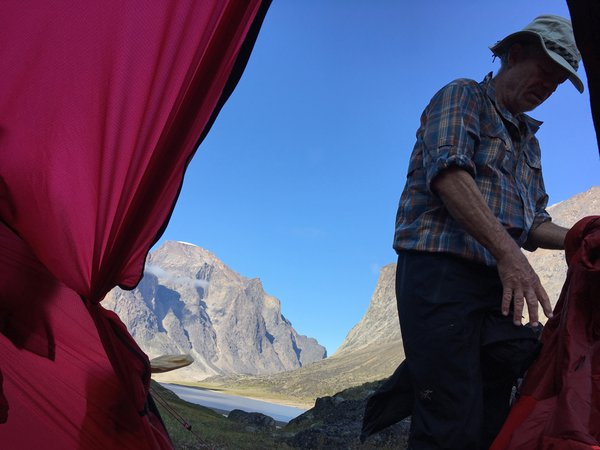 View from the tent thumbnail