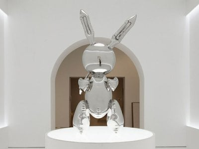 """""""Rabbit"""" sold at Christie's for a record-breaking $91.1 million"""