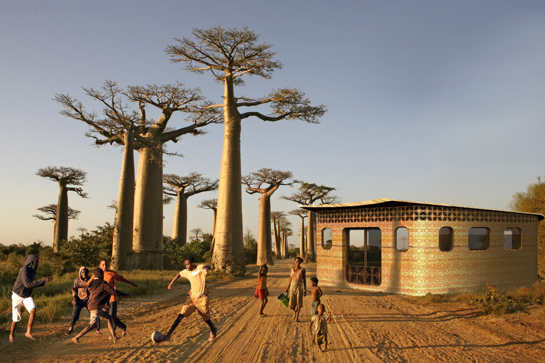 The World's First 3-D Printed School May Soon Be a Reality