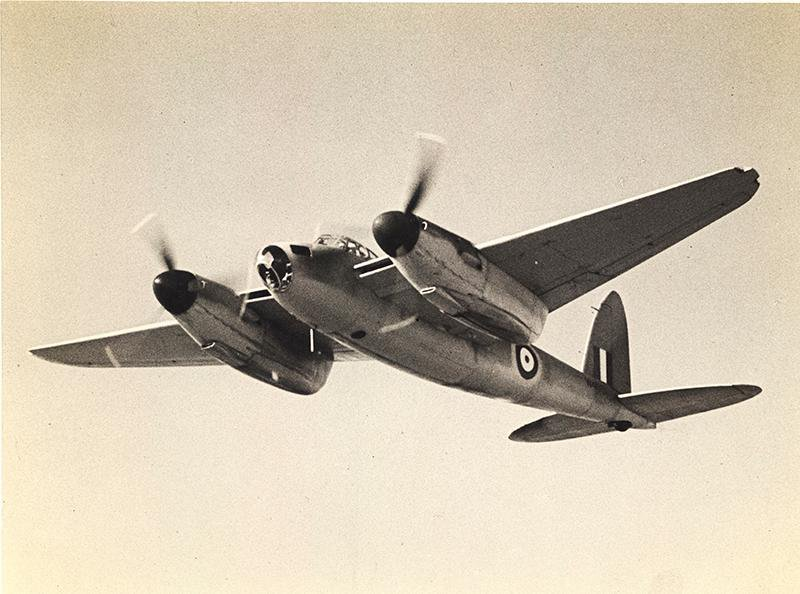 A Mosquito from the RAF's Squadron