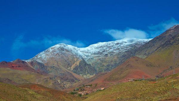 Snow capped High Atlas Mountains thumbnail