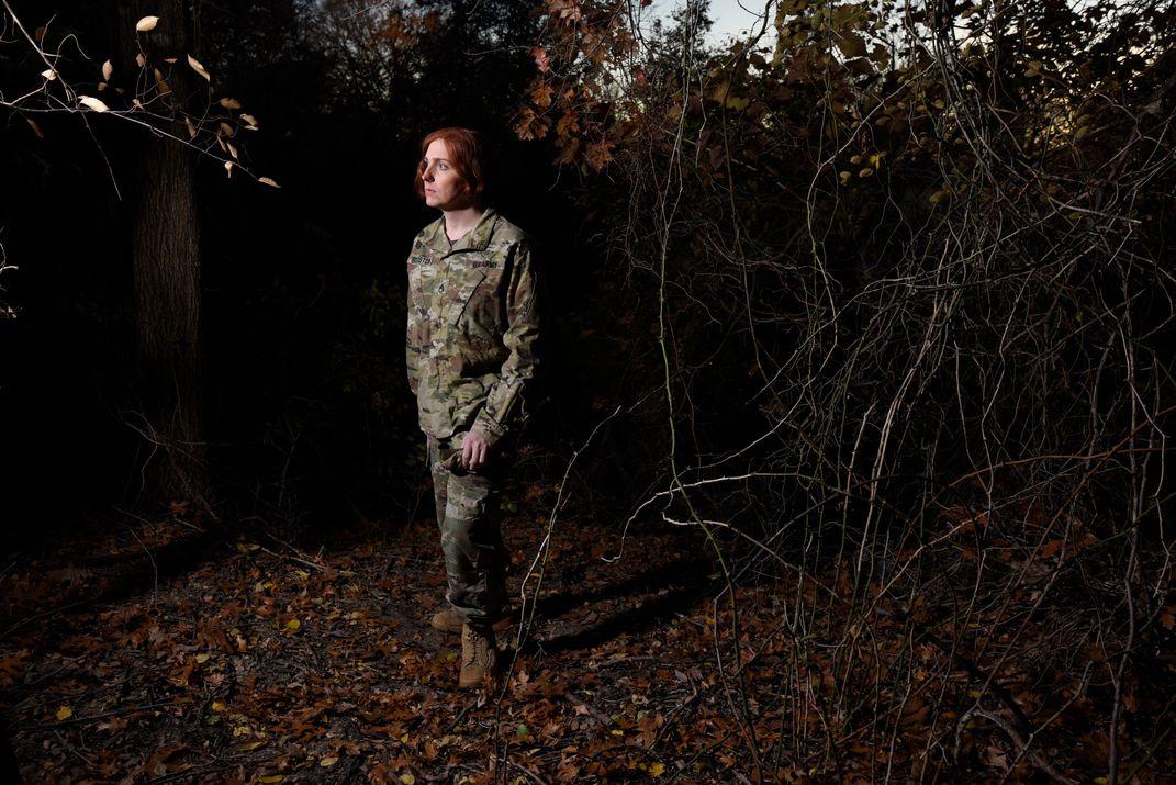 The Faces Behind Transgender Troops' Struggle for Acceptance