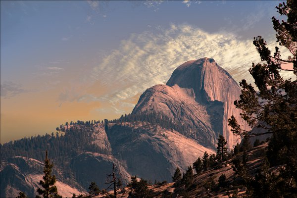 Half Dome from Tioga Pass thumbnail