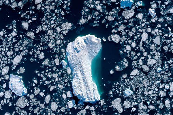 'Footprint', Disko Bay, Ilulissat, Greenland thumbnail