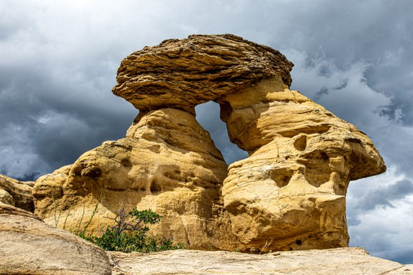 Rock Formation in Writing on Stone Provincial Park thumbnail