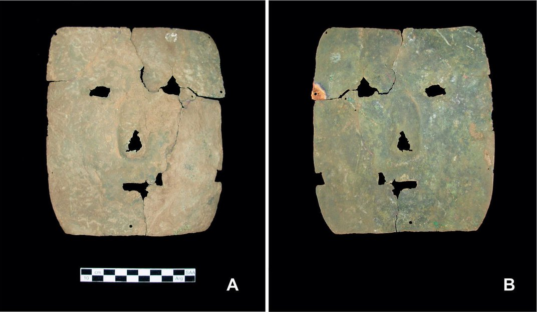 Ancient Mask Challenges Theories on Origin of Metalworking in South America