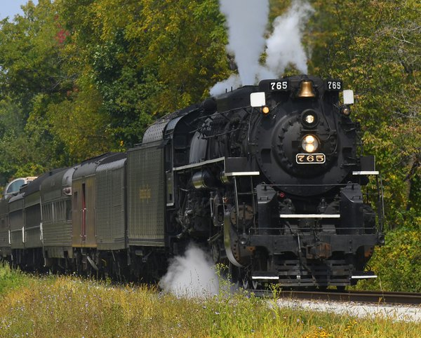 Nickel Plate 765 Steaming Along thumbnail
