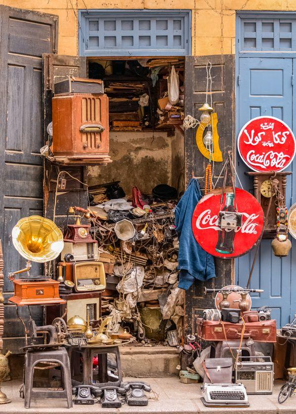 While Walking At Al-Moez St' Cairo thumbnail