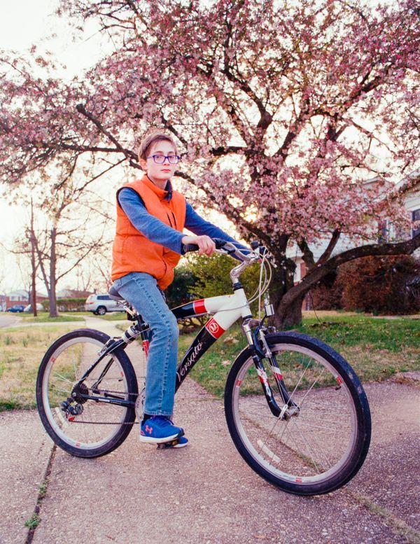 Boy on Bicycle thumbnail