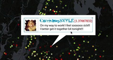 geo-tagged tweets