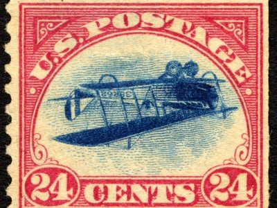 """""""Inverted Jennies"""" grew in notoriety; as one writer note, they """"blossomed into the Taj Mahal of stamps."""""""