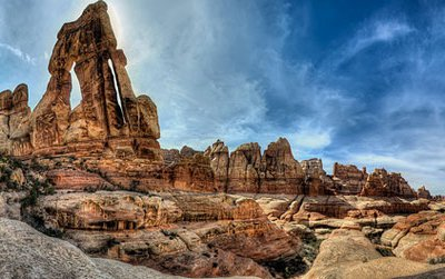 The Druid Arch in Canyonlands National Park