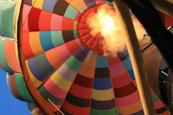Hot Air Balloon ride in Asheville North Carolina. thumbnail