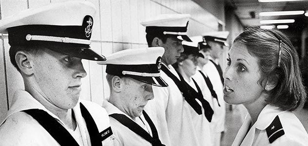 Don Holcomb and Sandee Irwin Naval Academy