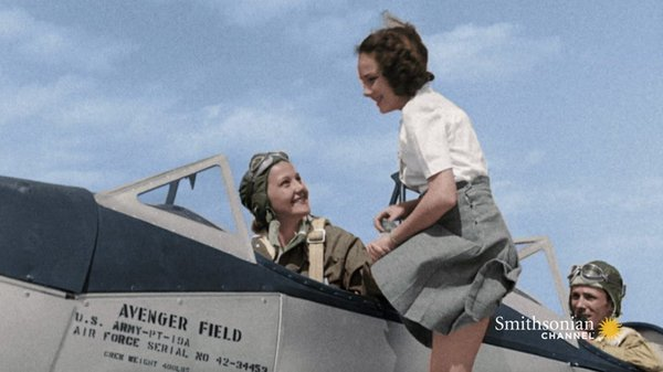 Preview thumbnail for Women Proved to Be Exceptional Pilots During WWII
