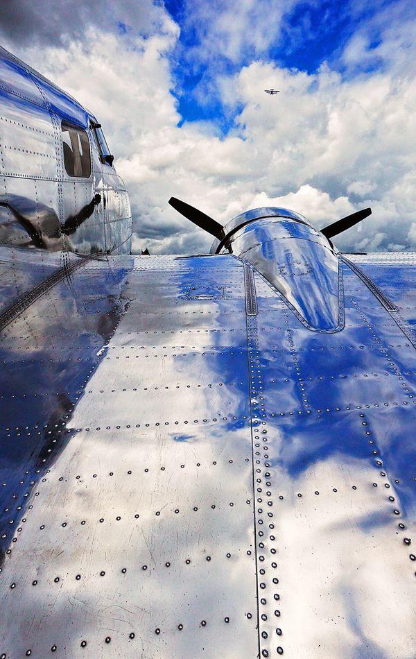 Lockheed Lodestar at air show in Arlington, WA thumbnail
