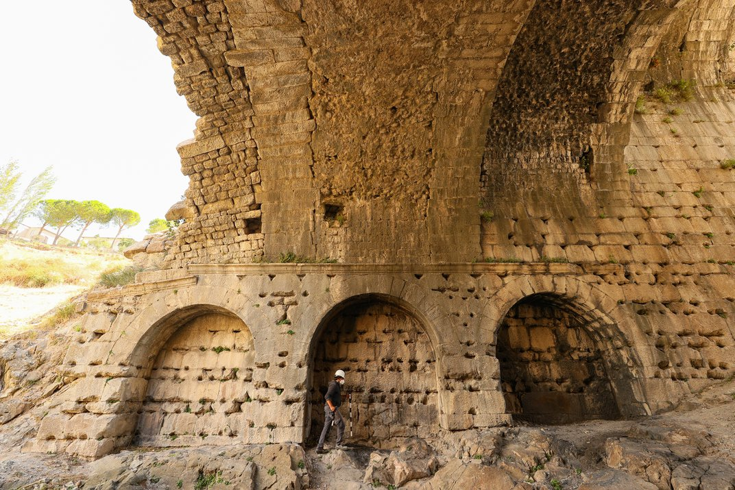 Inscribed VIP Seats Unearthed at Roman Amphitheater in Turkey