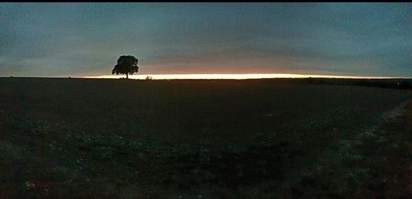 Sunset on the farm thumbnail