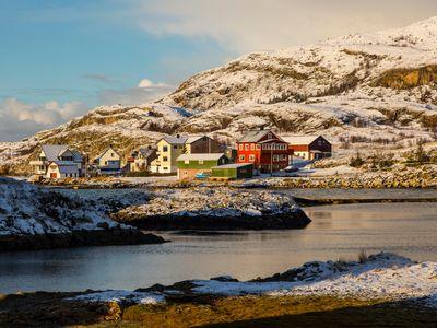 Paisaje Artico de Sommarøy
