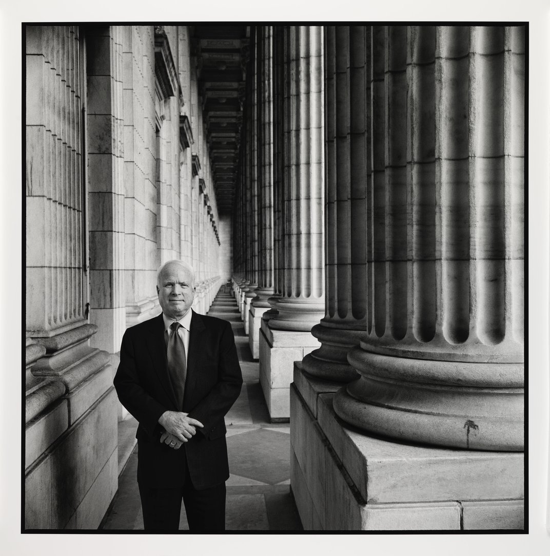 The Portrait That Captures the Defining Features of John McCain's Life and Career