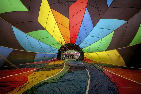 Inside the hot air balloon thumbnail