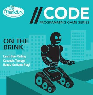 Preview thumbnail for 'Think Fun Code On The Brink, Blue