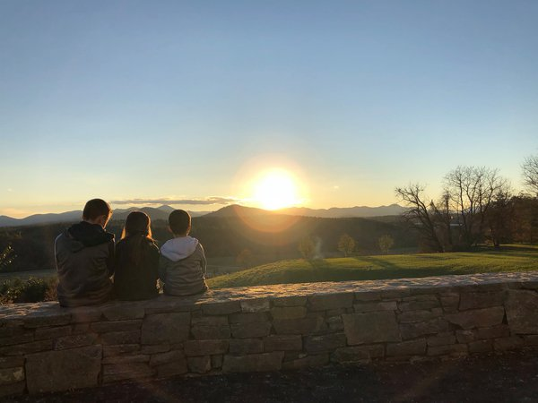 Sunset in Asheville thumbnail