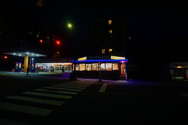 Diner at Night thumbnail