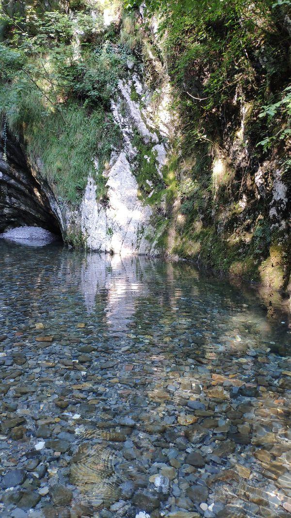 Dreamy scenery (Gole del Breggia) thumbnail