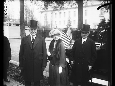 Florence Harding put up with a lot during her life, including Warren G. Harding's constant philandering.