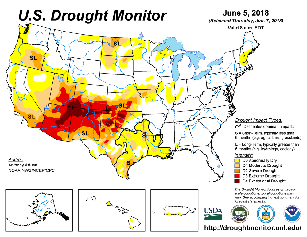 """How Climate Changed-Fueled """"Mega Droughts"""" Could Harm Human Health"""