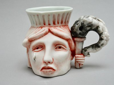 For 12 days from October 13 to 25, the works of selected contemporary crafters (above: Lady Liberty by Patti Warashina) will be on sale through the Bidsquare.com platform.